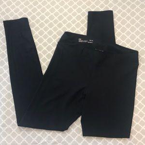 "UNDER ARMOUR ""HEATGEAR"" black leggings"